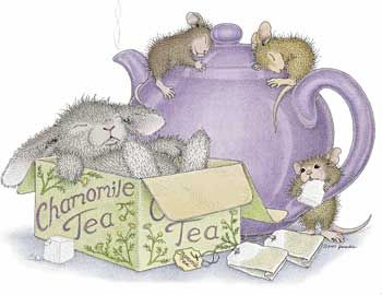 """Chamomile Tea"" from House-Mouse Designs® recently sold as a package of 10 note cards. Click below to see all of the products it is currently available on:  http://www.house-mouse.com/cgi-bin/gallery.cgi?image=e2008-2s="