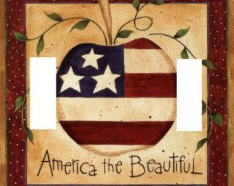 Popular items for home decor americana on Etsy