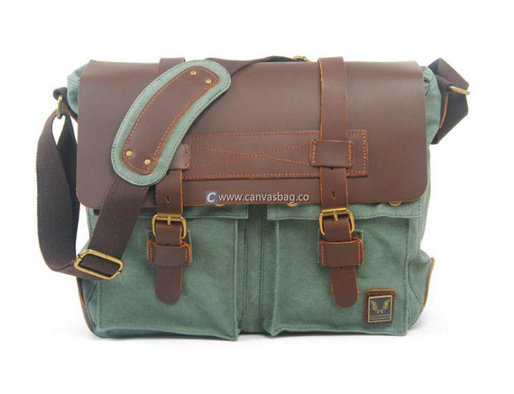 Canvas Messenger Bag Messenger Bags for School