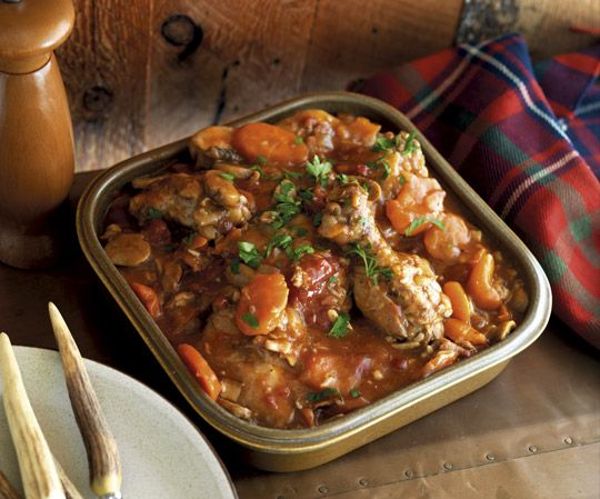 Slow-Cooked Country Chicken - sounds yum
