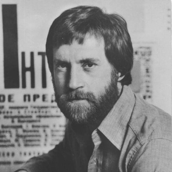 Vladimir Vysotsky, Russian singer and actor.