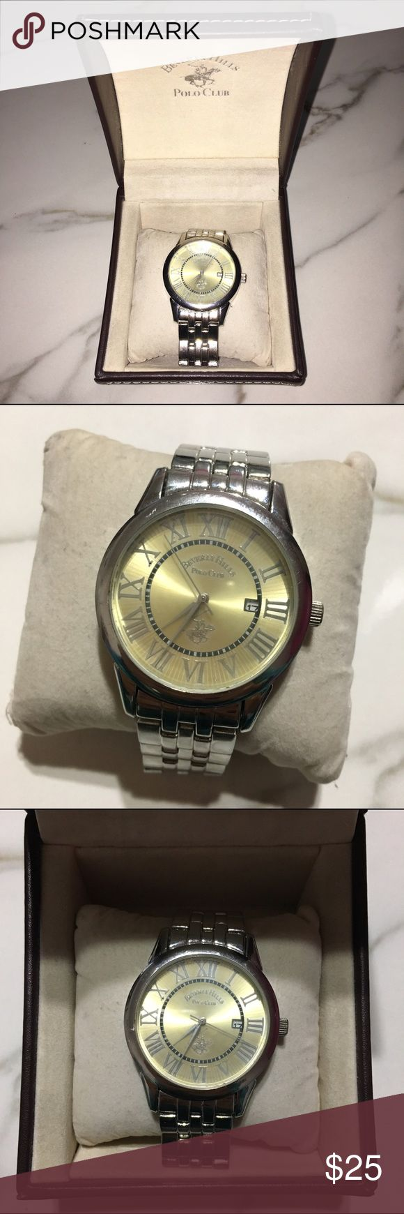 Beverly Hills Polo Club Polo Watch Beverly Hills Polo Club Polo Watch in great condition in original packaging! Details are shown in pictures above. Beverly Hills Polo Club Accessories Watches