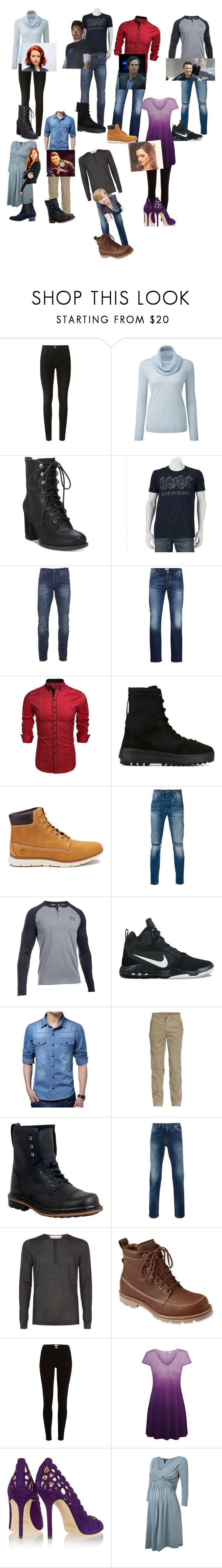 """""""This is madness...."""" by doggyfroggy ❤ liked on Polyvore featuring J Brand, American Rag Cie, Scotch & Soda, Marvel, Jack & Jones, adidas Originals, Timberland, Levi's, Under Armour and NIKE"""