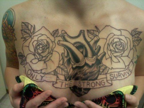 Sexy Chest Tattoos | Sexy Chest Tattoo