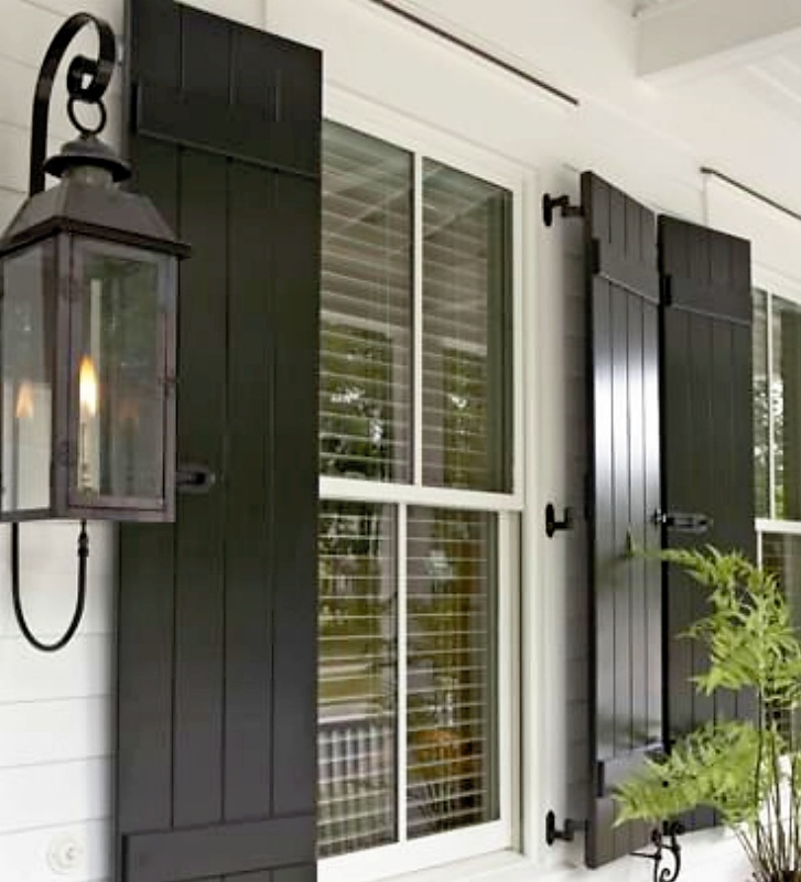 10 Best Exterior Shutters With Hinges Images On Pinterest Exterior Shutters Shutter Hardware
