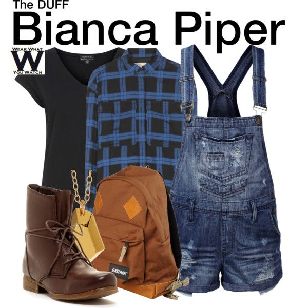 Inspired by Mae Whitman as Bianca Piper in 2015's The DUFF.