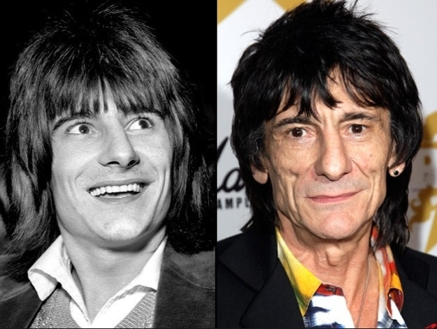 RONNIE WOOD.....6/1/19947--- THE ROLLING STONES