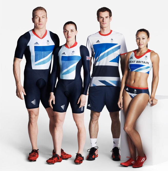Stella McCartney's designs for Britain's 2012 Olympic kit.