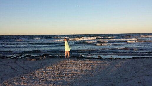 Kathrine på Balka strand