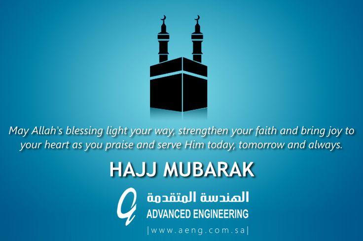 May Allah's blessing light your way, strengthen your faith & bring joy to your heart. Hajj Mubarak!