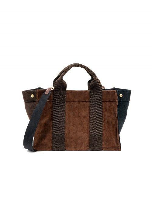 SAC MINI TOTE CORDUROY COPPER - RUE DE VERNEUIL  ruedeverneuil  designer   fashion   0d3c757297f