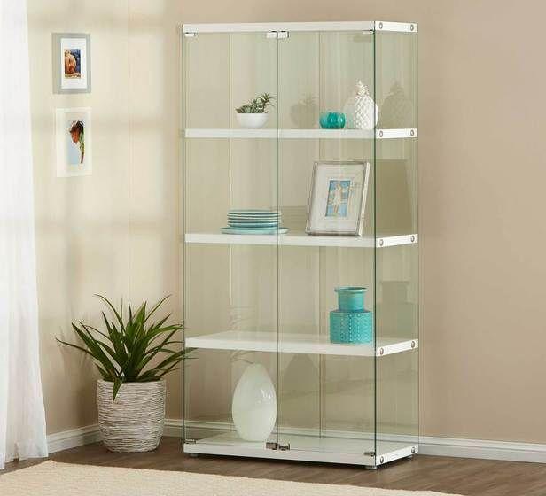 Gallery 4 Shelf Glass Cabinet