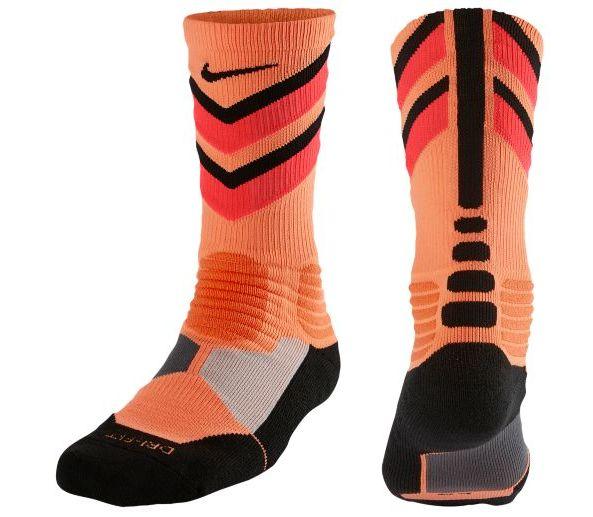 Nike Hyper Elite Cushioned Basketball Crew Socks size L / 8-12US