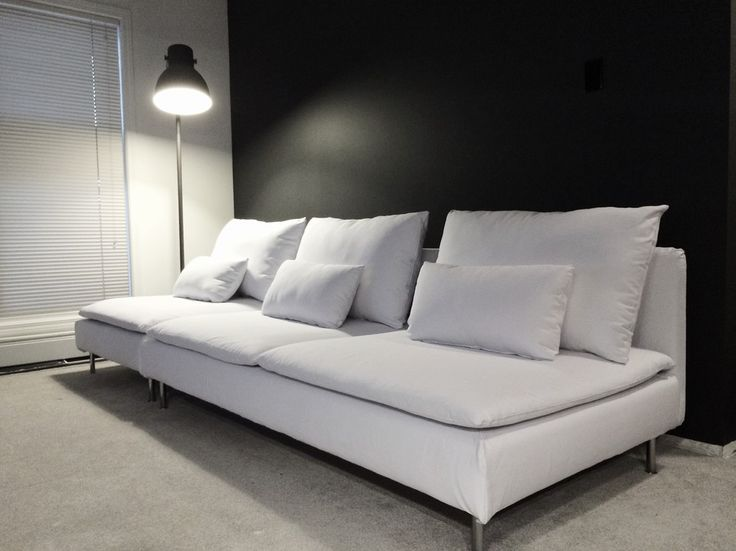 Customer Photo Comfort Works Custom Made Soderhamn Sofa