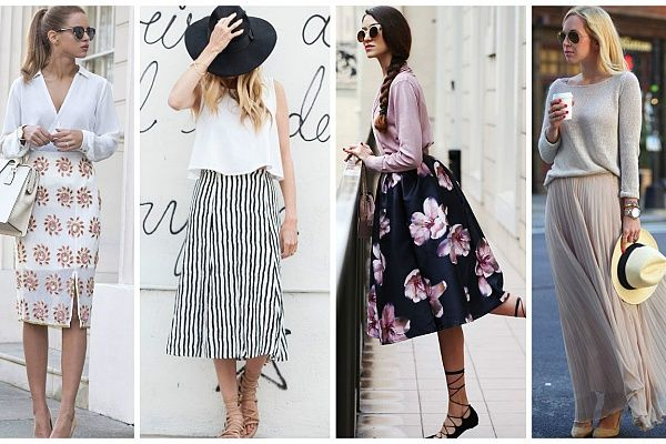 Какую юбку выбрать, если широкие бедра или полные ноги? (фото)