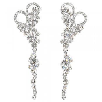 Sparkling Swarovski Crystals + Hearts