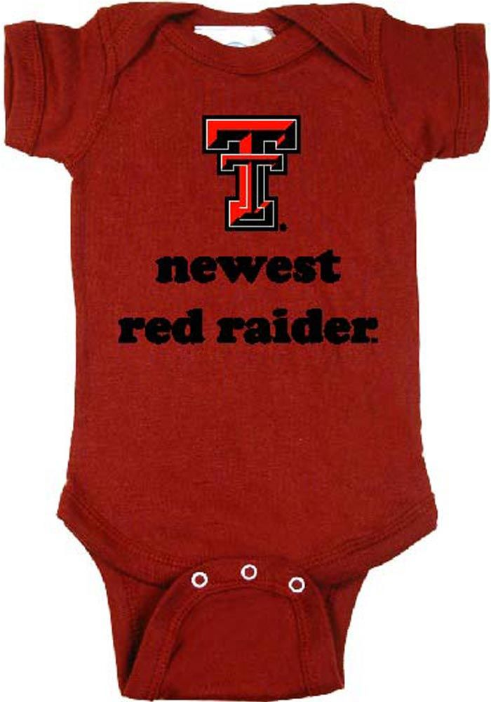 Texas Tech Red Raiders Baby Creeper - Red Texas Tech Newest Romper http://www.rallyhouse.com/shop/texas-tech-red-raiders-texas-tech-red-raiders-onesie-infant-red-newest-raider-onesie-10196632 $15.95