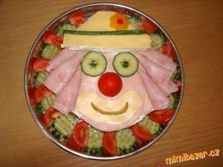 Slaný dort KLAUN