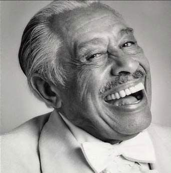 The legendary Cab Calloway, one of the all-time greats American jazz singers and bandleaders, most famous for his hit 'Minnie The Moocher' - which you've probably seen him perform in The Blues Brothers.♫♥♫♫♥♫♥♥J