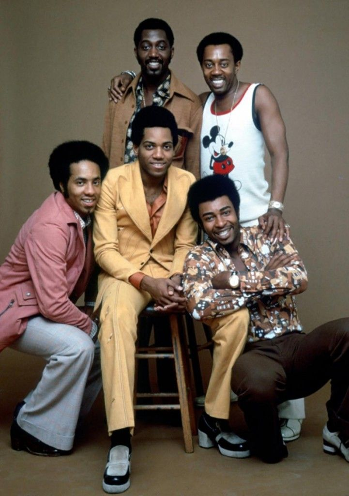 The Temptations; Dennis Edwards bottom right