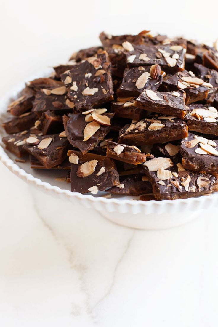 Salted Caramel Coffee Toffee
