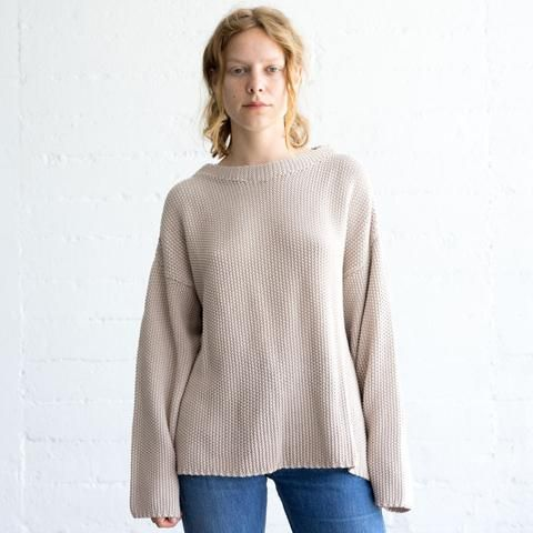 Micaela Greg Seed Sweater back in stock at General Store!