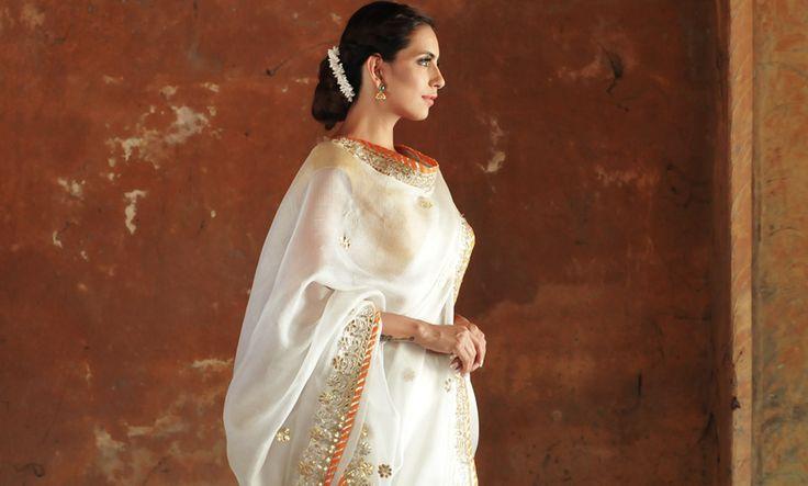 Buy Kota Narratives by Vidhi Singhania Kota silk sarees with batik and zari work Online at Jaypore.com