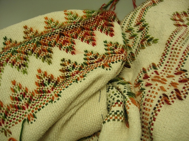 Swedish weaving.  I am almost finished with my first afghan.  Love this craft!!!