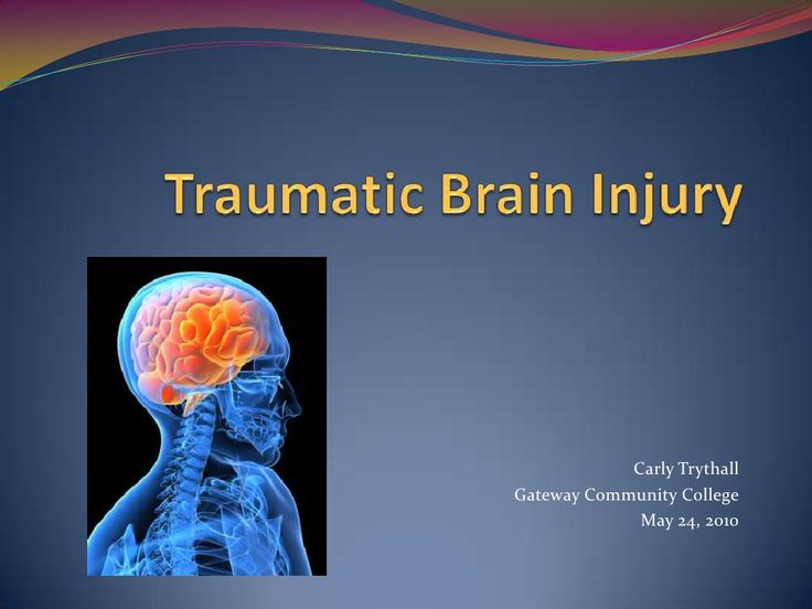 dating someone with traumatic brain injury Oh, i did some dating but every girl i feel like every girl thought like, knew they could kind of string me along a little bit, you know they didn't know i had a head injury but because of my.