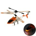 JC301 3.5-Channel Rechargeable Metal IR Control Mini Helicopter with Built-in Gyroscope(Yellow)
