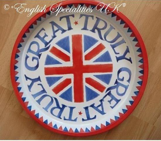 - イギリス雑貨と紅茶とハーブティーのお店 English Specialities エマ・ブリッジウォーター ユニオンジャック トレイ