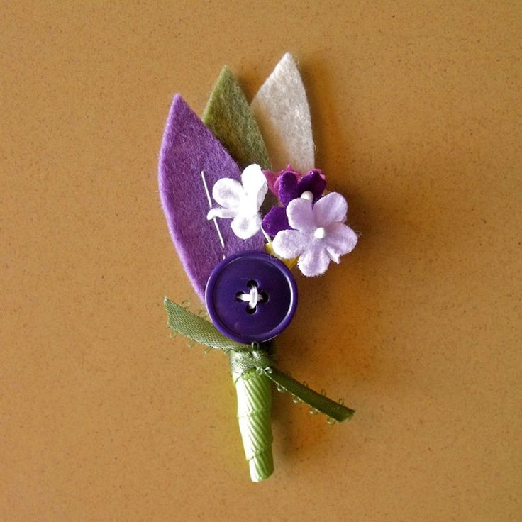 29 best felt boutonniere images on pinterest felt flowers image detail for diy boutonniere music city events solutioingenieria Image collections