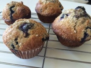 Perfect muffins. Simply replace white with whole wheat flour for perfect healthy whole wheat muffins!