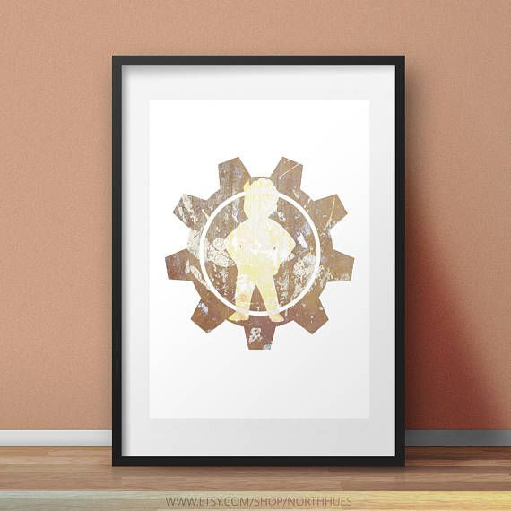 Prepare For The Future  Fallout Inspired Printable Wall Decor