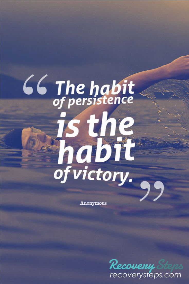 Motivational Quotes:The habit of persistence is the habit of victory.   Follow: https://www.pinterest.com/RecoverySteps/