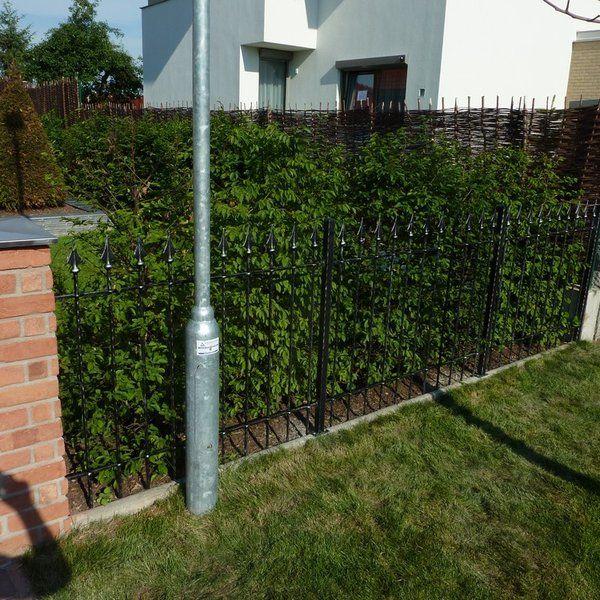 Kovaný plot - realizace Benešov