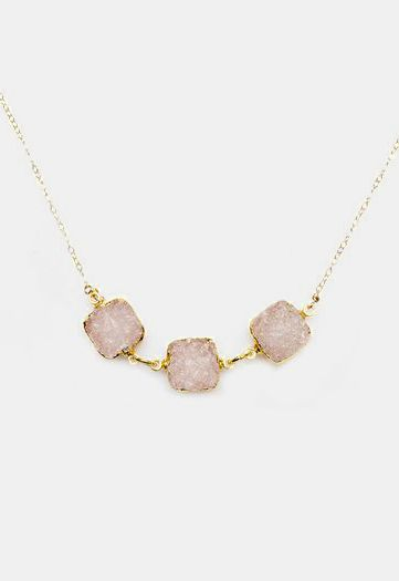 Rocco Clear Necklace