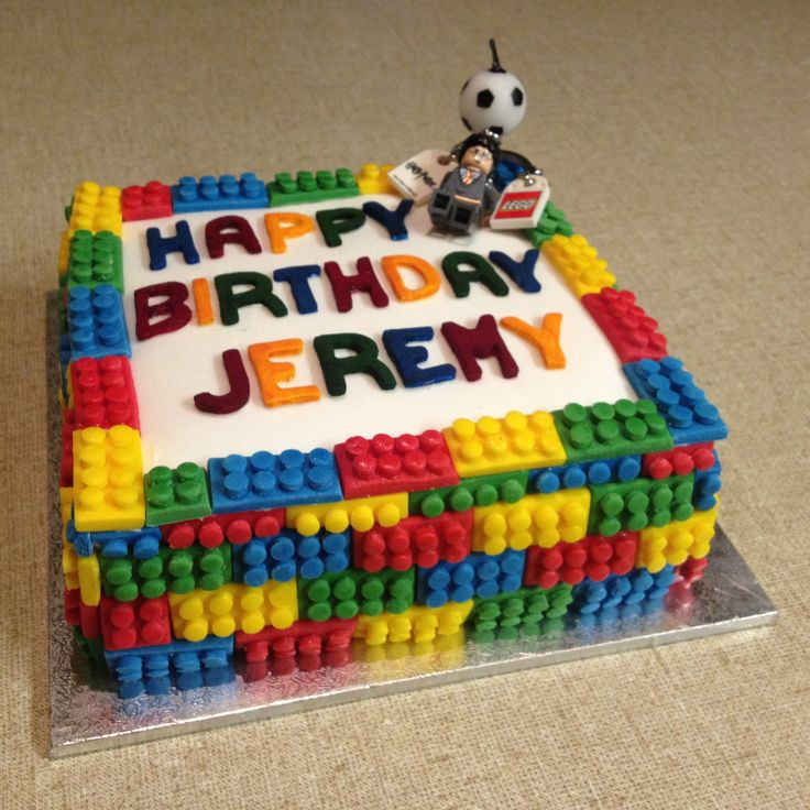 Lego Movie Birthday Party Cake