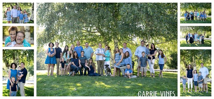 multi generation family photo session, large grouping ideas, outdoor family session, Oak Glen family photography, Southern California family photographer, www.carrievines.com