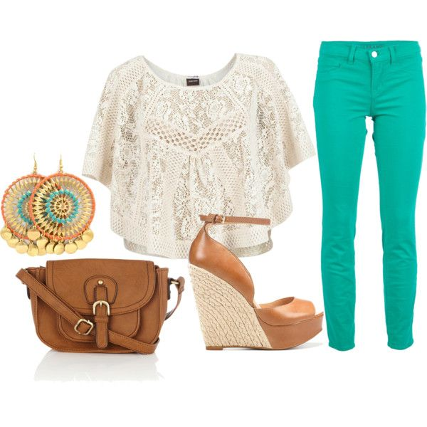 casual for spring, created by jfdez on Polyvore