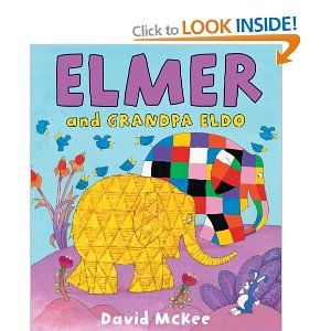 Rs. 150. Elmer and Grandpa Eldo - David McKee Scholastic, Paperback, 32 pages. Elmer visits Grandpa Eldo and they remember all the fun things they used to do together.
