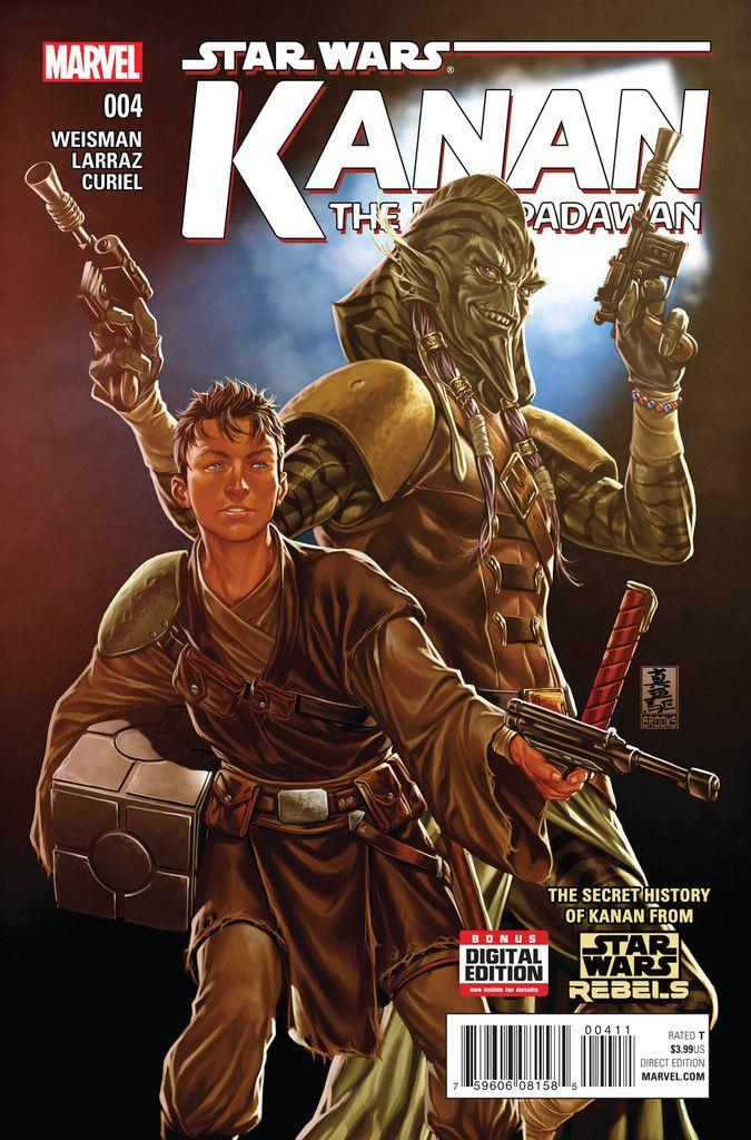 Star Wars: Kanan The Last Padwan (2015) Issue #4
