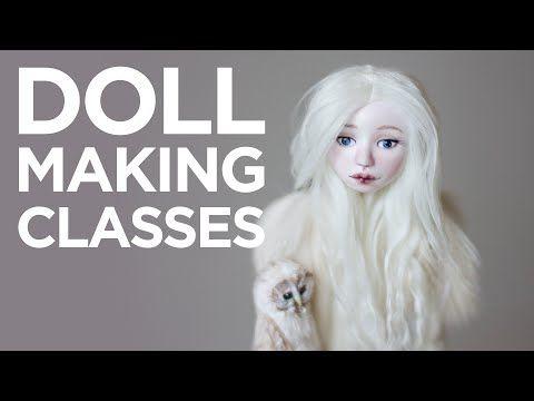 Doll making online classes - Adele Po.