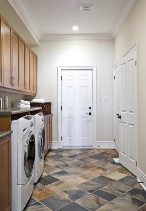 Stylish Laundry Room Floor