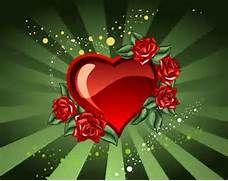 Foto de Corazón y rosas. Imagen de Corazón y rosas (Grande). Fotos e ...