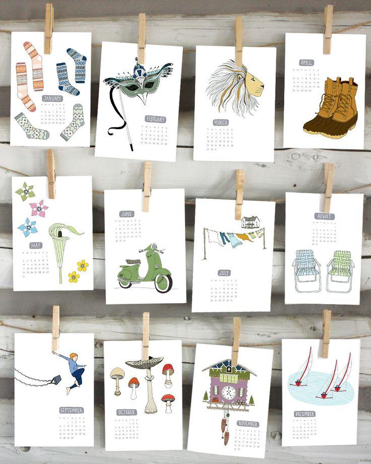 Kitchen Calendar Design : Best creative calendar ideas on pinterest family