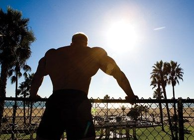 The Big Risk of Beach Muscle Training