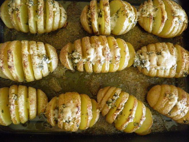 Patatas al horno y gratinadas