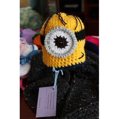Minion Hat - Newborn