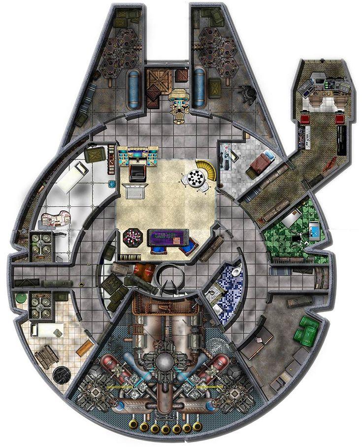 Good Star Wars Ship Floor Plans Part - 10: Millennium Falcon Found On Ocean Floor? - Page 2 - Honda-Tech - Honda Forum  Discussion